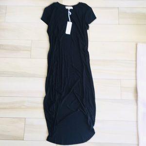 🖤NWT🖤 Joah Brown Black Soft Ribbed Dress - S/M